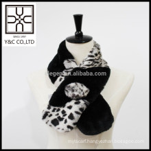 2015 New design fashion Lady Faux Fur shawl
