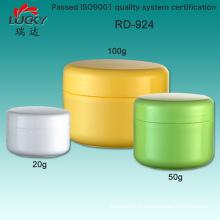 Boîte de cosmétiques de PP avec couvercle 100ml