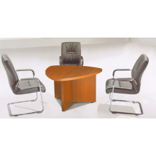 Melamine luxury triangle conference table for meeting room