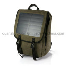 OEM Nylon Outdoor Leisure Travel Solar USB Bag Backpack