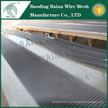 Fachadas exteriores Decoração Metal Mesh / Metal Decoração Cerca de malha / proteção externa Malha de arame tecido