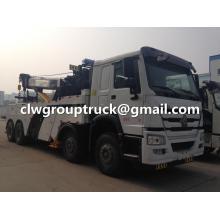 SINOTRUCK HOWO 8X4 LHD/RHD Wrecker Towing Truck
