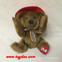 Plush USA Hat Teddy