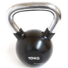Fat Burning Workout Rubber Coated Cast Iron Kettlebell for Woman
