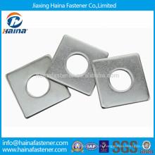 Rondelle plate à trous carrés standard, rondelle JIS B 1256, rondelle carrée