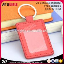 La mejor caja de llavero de cuero de accesorios clave personalizada