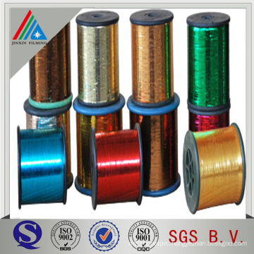 M type pet film for metallic yarn silver and gold color