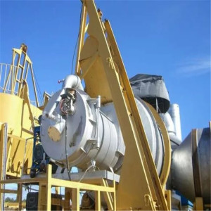 QLB15 Midwest Asfalt Hot Drum Mix Plant