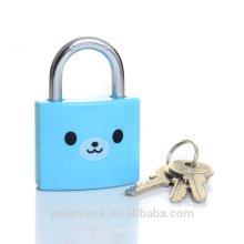 Tampa de ABS Weatherproof ferro lockbody S key padlock