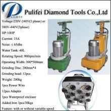 Máquina concreta del pulidor de la amoladora de la velocidad variable para pulir del pulido del piso