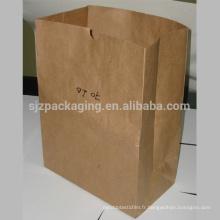 Sacs en papier Kraft en carton Square