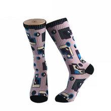 O tornozelo da sublimação da cópia de 3D Digitas golpeia peúgas sublimadas