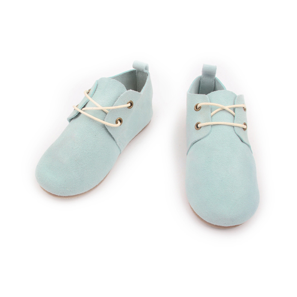 Customized Color Hard Sole Leather Child Oxford Shoes