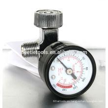 herramienta neumática de regulador de aire con calibre-1/4 in.fitting