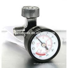 ferramenta pneumática do regulador de ar com calibre-1 / 4in.fitting
