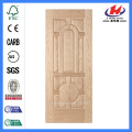 JHK-018 Natural Oak New Design  Laminate Wood Door Skin