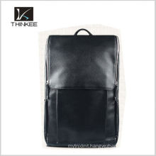 Custom genuine leather backpack manufacturer men backpack