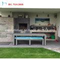 Sauvegarder Frais de port Table et chaise de salle à manger en osier (CF955)