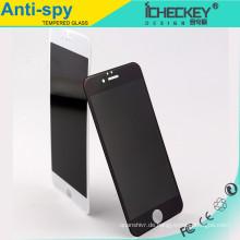 Anti-Fingerabdruck Anti-Spy des ausgeglichenen Glases des Großhandelschutzes für iphone 6, ausgeglichenes Glas der Privatsphäre für iphone 6