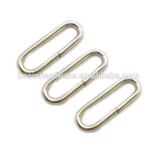 Fashion High Quality Metal Hardware Oval Ring For Bag Strap