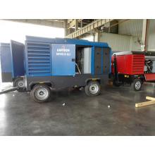 Atlas Copco 890cfm 10bar Tragbarer Schraubenkompressor