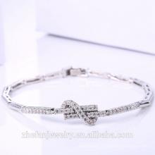 Femmes accessoires en gros fabricant chine bowknot forme bracelet chaîne