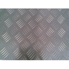 placa de piso de alumínio, uma barra, 5 bar