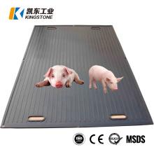 12mm Thick Durable Pig Rubber Mat Wean to Finish Mat Manger Mat