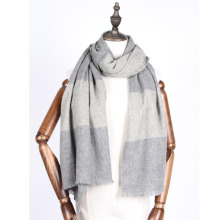 30% cashmere blends 70% wool shawl men
