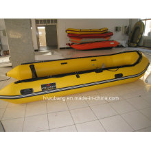 PVC barco, barco de pesca, barco inflável para venda