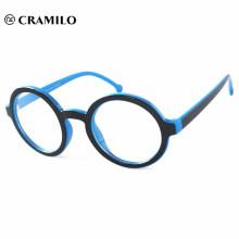 Kundenspezifische runde Brillengestelle ohne Nasenpads