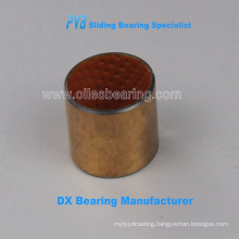 DX PVB02S Jiashan best manufacturer, POM copper plating rolled brass bushing,bronze bearings