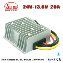 Waterproof 24VDC to 13.8VDC 20A 276W DC DC Buck Converter