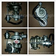 Turbocompresor eléctrico Rhb31 129137-18010 Vc110033 My62 para Yanmar Tierra Moving Marine Industriemotor 4tn84t Motor