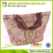 2014 Bohemia style full printing polyester fashion handbag for promotion