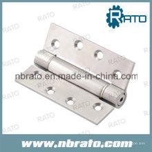 Dobradiça de porta de níquel de cetim de alta qualidade