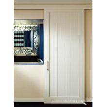 Ali Supplier Hot Products Puerta compuesta de riel blanco y riel con panel de MDF