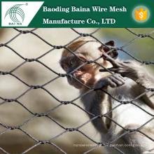 Cerca de malha de arame de aço inoxidável para o zoológico fabricado na China