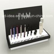 Suporte de exposição cosmético acrílico personalizado do projeto