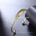 gros bracelet en acier inoxydable 18k plaqué or bracelets femmes bijoux OEM