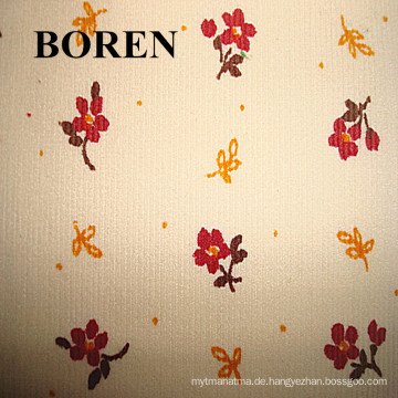 11 Wales 100% Organic Cotton Corduroywith Blume gedruckt