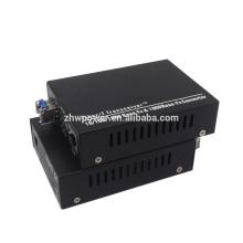 Convertisseur de fibre optique Ethernet à fibre optique de 20 km avec module de convertisseur de base à fibre optique 10/100/1000 avec connecteur LC