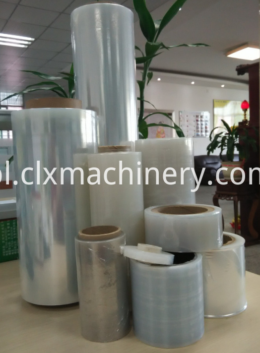 recycling cutting film machine
