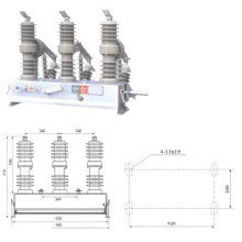 Pole Vacuum Circuit Breaker
