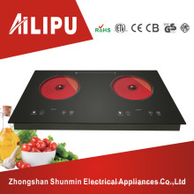 Hot-Selling Dual Plate Infared Cooktop