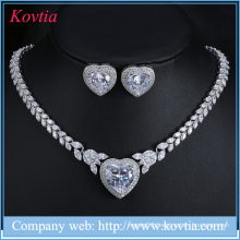 2015 zircon jewelry fashion zircon set Design Zircon Jewelry Set, Hot Selling CZ Stone Jewelry Set