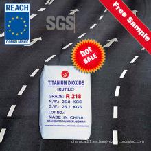 Excelente dióxido de titanio resistente a la intemperie a largo plazo para la pintura de señales de carretera