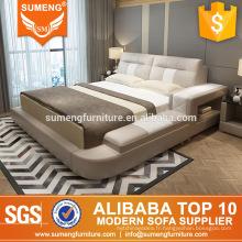 foshan shunde derniers modèles de meubles de chambre à coucher en bois de luxe