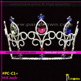 Colored pageant crowns Tiaras and crowns for sale