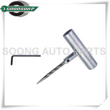 Zinc-alloy Heavy duty Tire Repair Tools T-handle Spiral Probe Cement Tools
